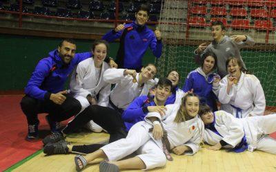 Éxito de las Judokas Cántabras en el Torneo Internacional Ciudad de Eibar femenino.