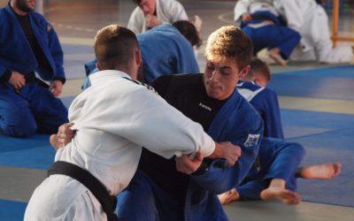Judokas de las categorías infantil, cadete y junior becados para el II Stage Daedo de Suances.