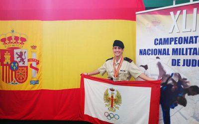 Lucía Calvo García campeona de España militar individual y por equipos en Toledo